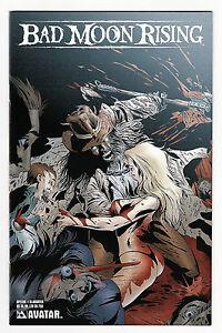 Bad Moon Rising Special 1 NM+ Slaughter Variant LTD 750 Avatar Wellington Alves
