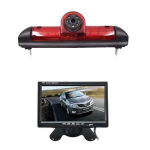 7'' LCD Moniteur & Caméra de Recul Pour Fiat Ducato/Peugeot Boxer/Citroen