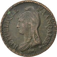 Monnaies, Directoire, Un Décime Dupré An 8 A, KM 644.1 #82020