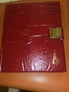 1980 Russia 28 Coin Moscow Olympics Silver Proof Set -Velvet Display Book *6804