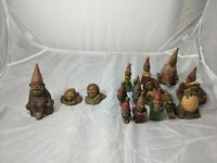 Large Mix Lot of 15 Tom Clark Gnome Figures 3 Signed