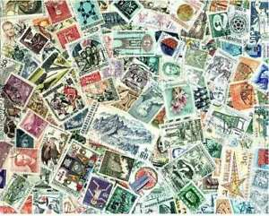 Czechoslovakia Stamp Collection - 800 Different Stamps