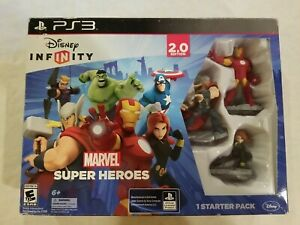 Disney INFINITY: Marvel Super Heroes (2.0) Video Game Starter Pack - PS3 NEW