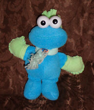 "Fisher Price Cookie Monster Sesame Street 9"" Plush Soft Toy Stuffed Animal"