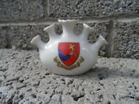 Old crested china ornament - small porcelain crested Bundoran - Rare Irish crest