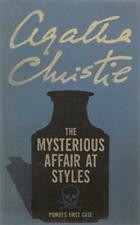 The Mysterious Affair at Styles (Poirot), Christie, Agatha, Good Condition Book,