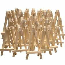 24 X Mini Wooden Easel Mini Timber Easel Miniature Wooden Easel 12cm H