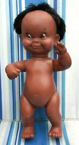 "Vintage 60s Regal Doll Canadian Native American Inuit Eskimo 10"" nude doll"