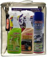 PROMO TRATTAMENTO PELLE TRATTAMENTO PLASTICHE PANNI 3SHINE GLASS CLEANER MA-FRA