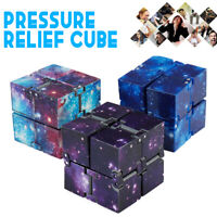 Magic Infinity Cube For Stress Relief Fidget Anti Anxiety Stress Fancy Toy Gift