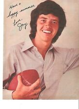 The OSMONDS Jay with his football  magazine PHOTO / Pin Up /Poster 11x8 inches