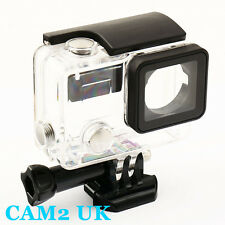 45m Protective Waterproof Housing Case w Glass Lens for GoPro Hero 3+ camera UK