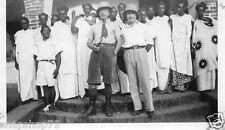 AS594 Photo vintage colonial Afrique Lebrun 1935