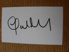 50's-2000's Autographed White Card: Mullin, John - Sunderland