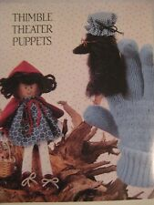 Little Red Riding Hood & Wolf Finger Puppets Shelf Doll Pattern small