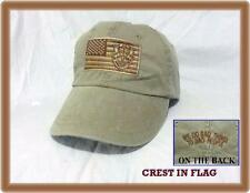 ARMY Airborne Special Forces OPERATIONS GREEN BERET DESERT CREST IN FLAG CAP HAT