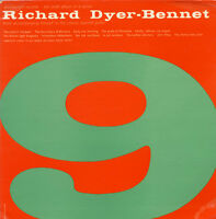 Richard Dyer-Bennett, Richard Dyer-Bennet - Vol. 9 [New CD]