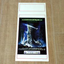 GODZILLA locandina poster Broderick Jean Reno New York Sci-fi Monster AQ9