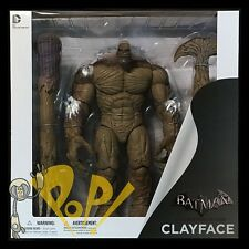 "BATMAN Arkham City CLAYFACE Deluxe 13"" Action Figure DC Collectibles SOLD OUT!"