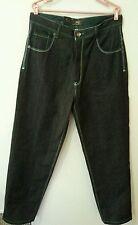Russo Spirit Jeans Men Blue Denim Boot Cut 5 Pocket Cotton 36W34L Pants