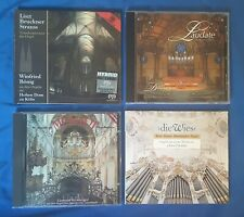 12 Orgel CD's, Konvolut, Orgelmusik