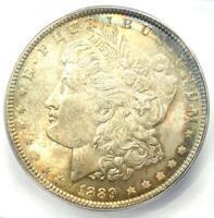 1889 Morgan Silver Dollar $1 - ICG MS66 - Rare Date in MS66 - $980 Value!