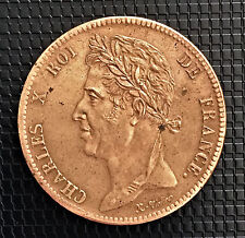 CHARLES X 5 CENTIMES 1825 A (COLONIE FRANCAISE) SUPERBE