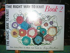 The Right Way to Knit Book 2 How to Block and Finish by Evelyn Stewart