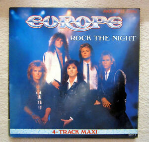 MS / EUROPE / ROCK THE NIGHT / 1985 / RARITÄT /