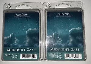 Fusion Scented Wax Cubes MIDNIGHT GAZE / 2 Packs / 2.5 Oz Each