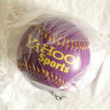 Yahoo! Sports Purple Baseball - Collectible Search Engine Memorabilia Apple
