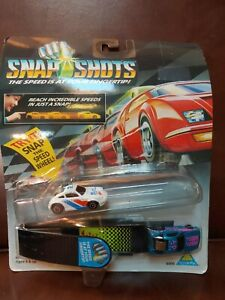 Toymax Snap Shots Cars with Launcher New On Card 1993