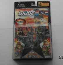Fuerza de acción/Gi Joe Cobra 25th drednok Antorcha Y Navaja Moc Comic 2 Pack