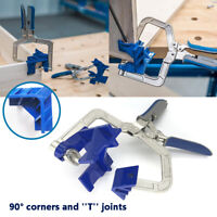 Auto-adjustable 90° Corner Right Angle Clamp Face Frame Kit Fixed Woodworking