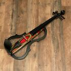 Geneva GVE-N029 Red Swirl Electric Violin Outfit for sale