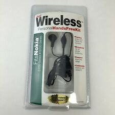 Nokia 5100 6100 Headset Microphone with Clip Black Hands Free Mic