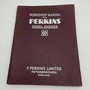 Perkins Diesel Engines Factory Workshop Manual