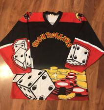 New listing Vtg ProJoy Highrollers Inline Hockey Jersey Roller Adult L High Rollers Vegas