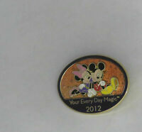 Disney New Years Day Magic 2012 Mickey and Minnie Pin