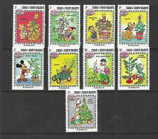 HICK GIRL- MINT TURKS & CAICOS STAMPS    DISNEY   CHRISTMAS '83     T229
