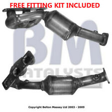 Fit with BMW 320 E46 Catalytic Converter Exhaust 91477H 2.2 (Fitting Kit Include