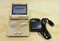 Nintendo Game Boy Advance GBA SP Gold System AGS 001 MINT NEW