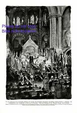 Rote Baron Freiherr von Richthofen XL Kunstdruck 1925 Beerdigung Kampfflieger +