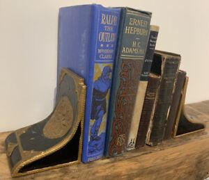 Old/ Vintage Decorative Book Ends