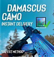 Damascus Camo Service *ALL GUNS* Call of Duty: Modern Warfare [PC/PS4/Xbox One]