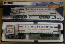 Corgi CC13757 Scania R Curtainside NG Bell & Son Newtownards Ltd Ed 1000 of 1000
