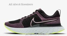 """Nike React Infinity Run Flyknit 2 """"Violet Dust/Black/Cy"""" Limited Stock All Sizes"""