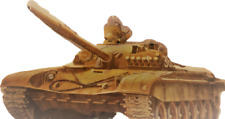 NEW Army Soviet MBT Military Battle Armor Tank Cannon War Model Hobby Project