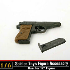 "Dragon Toys 1/6 Scale Weapon Gun Model Automatic Pistol Walther PPK F 12"" Figure"