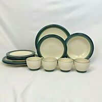 12 PIECE PFALTZGRAFF MOUNTAIN SHADOW DINNERWARE DINNER SALAD PLATES RIM SOUP CUP